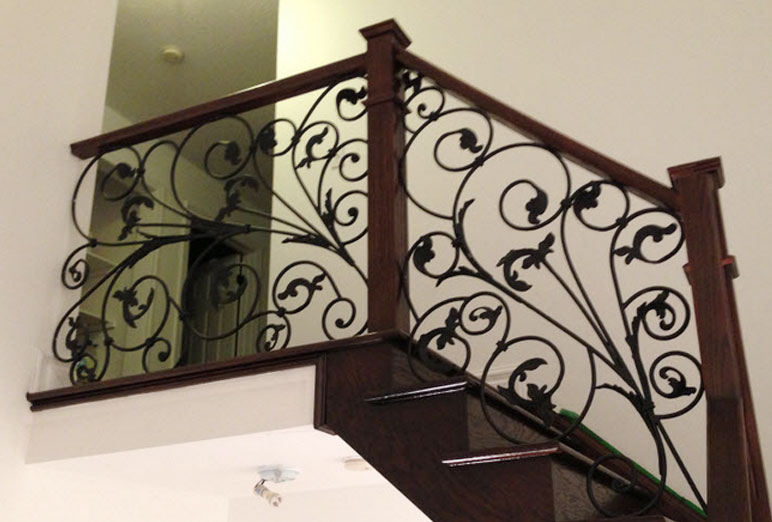 Staircase Iron Railings