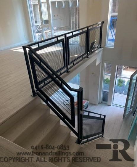 Toronto iron railings